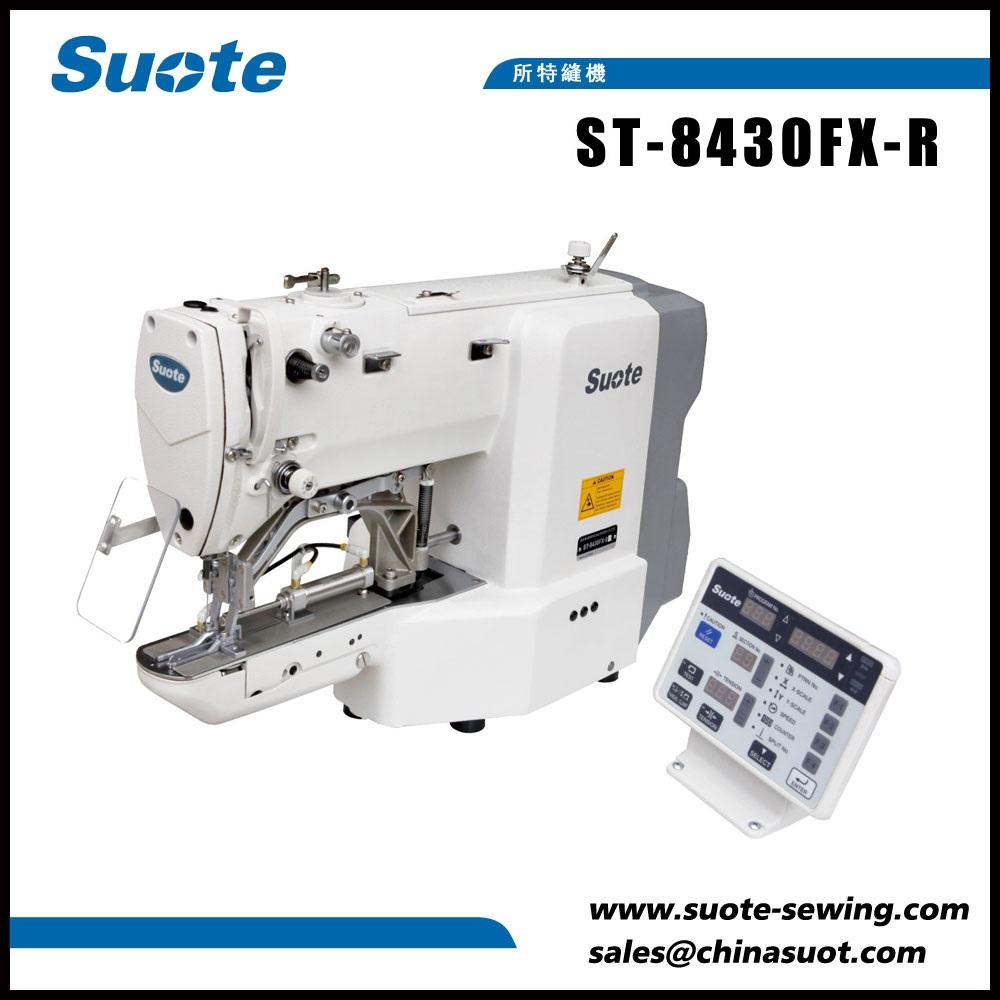 Machine à coudre électronique à épissure de ruban élastique